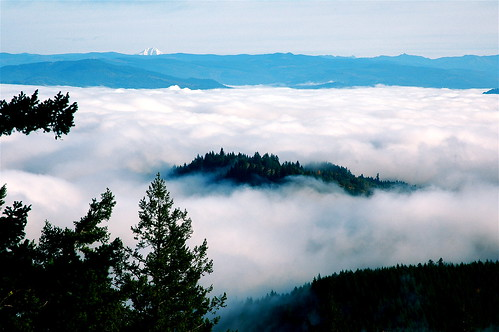 Above the Fog @ Spencer Butte