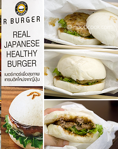 R Burger from Bangkok
