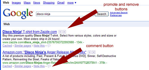 Google Search Buttons
