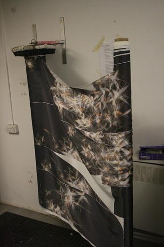Creating the Dandelion Kimono: Steaming