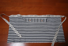 remake used clothing into an apron (chibirashka) Tags: fashion sewing remake