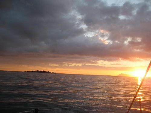 sunset Nosy Komba