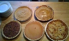 5 (five) kinds of pie!