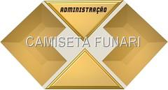 logomarca administraçao dourado