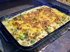 Brocolli casserole - FROM SCRATCH