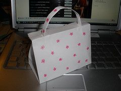 My first paper handbag