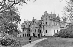 Udny Castle prior to 1964