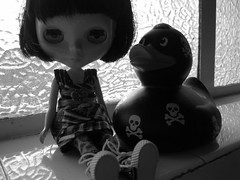 Ambrosia and her punk duck