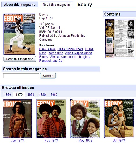 Ebony Home Page