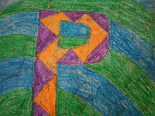 Prentice crayon crackle