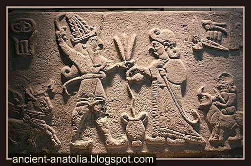 Hittite Libation Scene