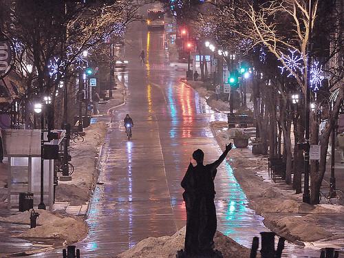 December Rain on State Street