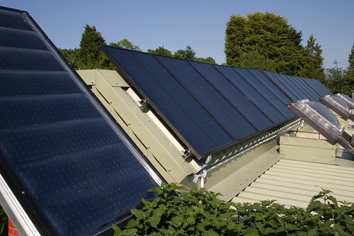 Brighton Earthship Solar Panels