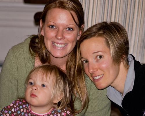 Eva w/ Her Aunties
