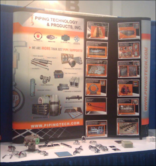 PT&P Booth at the ASME Plant Engineering, Inspection, and Maintenance Trade Show