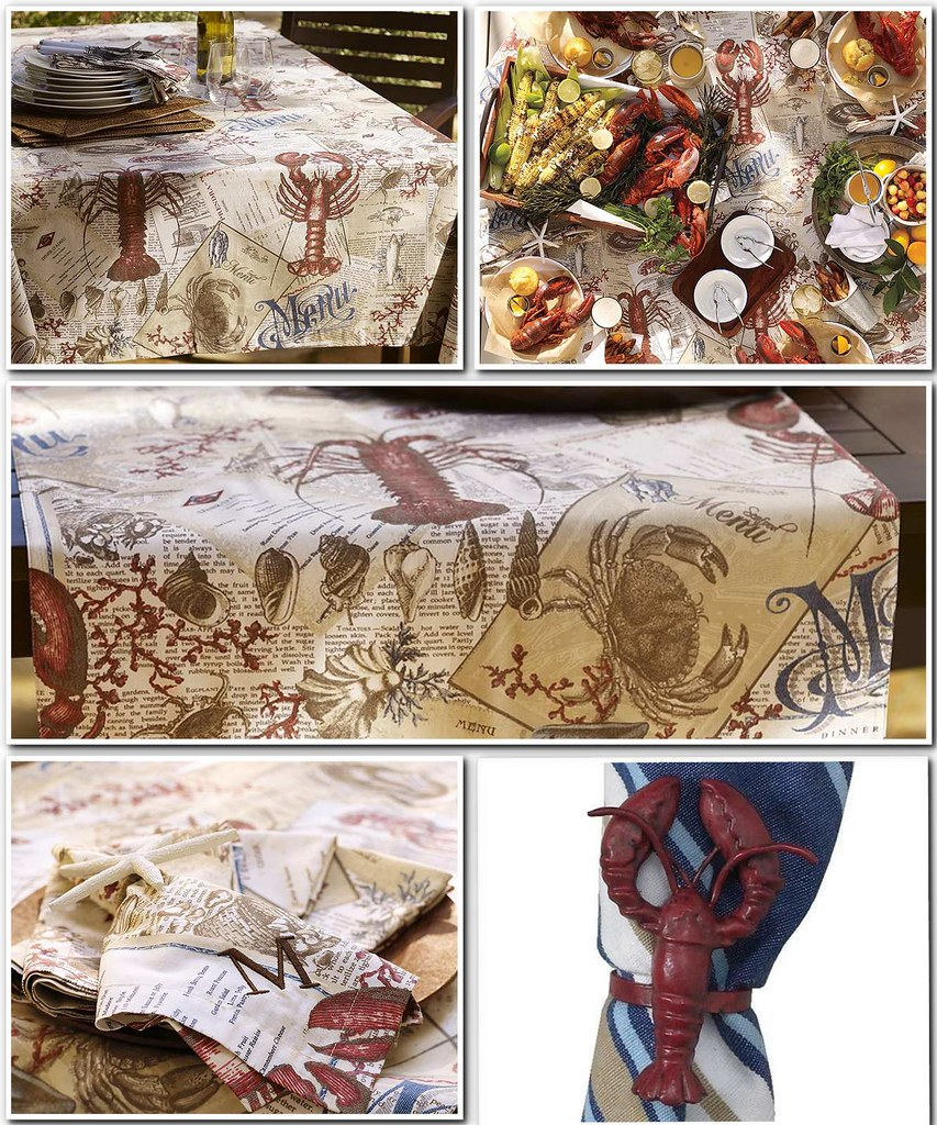 Lobster Linens...now what?