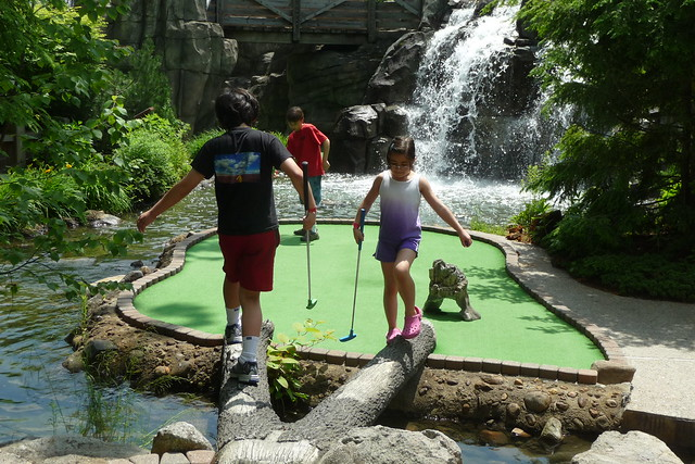 Mini Golf at Kimball Farm
