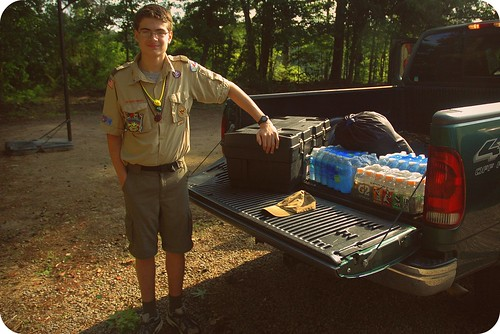 Gabe Headed to Boy Scout Camp by Joe Jon!