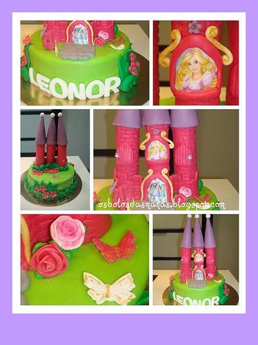 Detalhes Bolo Castelo Barbie e as  3 Mosqueteiras II by Osbolosdasmanas