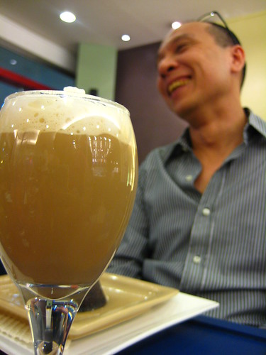 Spiked Coffee after 5 with Delifrance President William Tan Untiong