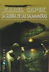 Karel Capek, La Guerra de las Salamandras