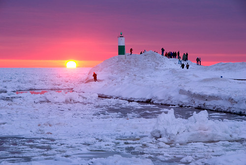 Holland State Park Sunset by jbatts
