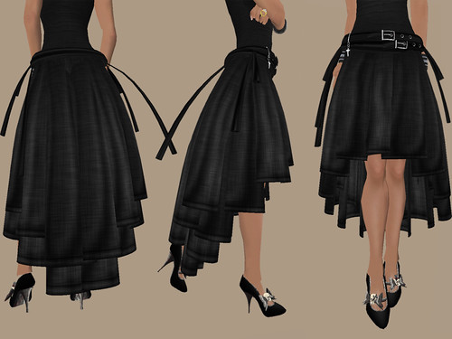 Hexed Alt - Attitude Skirt