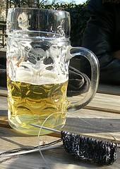 Biergarten-Saison er�ffnet