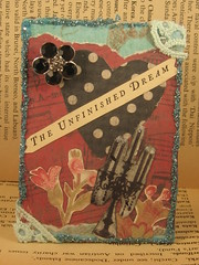 The Unfinished Dream ACEO ATC
