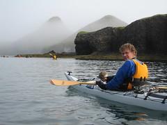 Kayjak  Breiafiri (Einar Valur) Tags: kayak breiafjrur