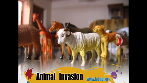 Animal Invasion - Stop Motion Film