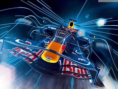 Red Bull RB4 F1 2008 (Syed Zaeem) Tags: red wallpaper car f1 bull wallpapers 2008 rb4 getcarwallpapers