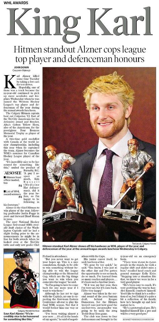 Calgary Herald Digital - Calgary Herald - 1 May 2008 - King Karl