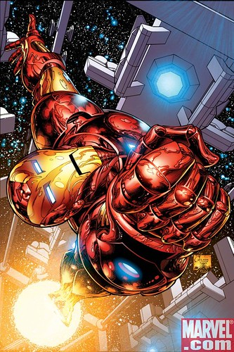 Invincible Iron Man #1 Quesada