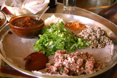 Dinner @ Addis