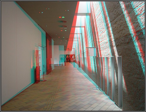 3D兵庫県立考古博物館-anaglyph-Hyogo Prefectual Museum of Archaeology-R0012594