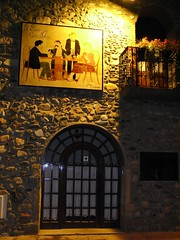 Detalle de Fachada exterior del Edificio de Can Fabes