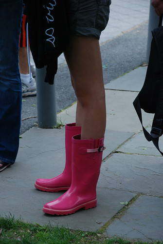 pink boots princeton 2008 reunions faved rainboots may2008 reunions2008