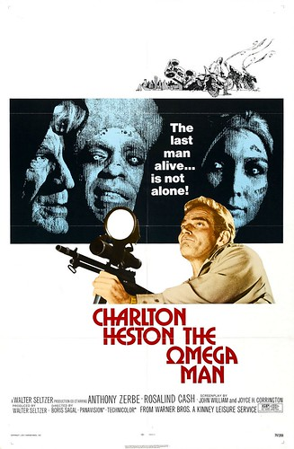 Poster The Omega Man Charlton Heston Boris Sagal