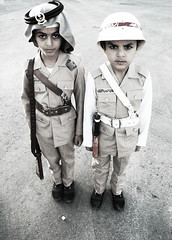 Old Policeman & Fireman Uniform () Tags: old uniform saudi fireman saudiarabia policeman