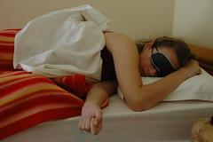 Iza slaapt
