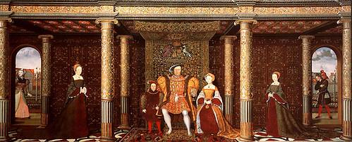 17-La familia de Enrique VIII- 1545