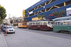 Linea F: Tram storici (bel_riose) Tags: sanfrancisco usa unitedstates viaggiodinozze statiuniti lineaf