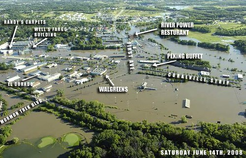 Annotated Coralville Flood