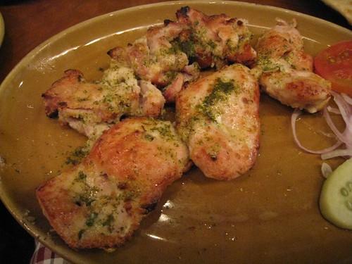 Damn fine chicken kababs