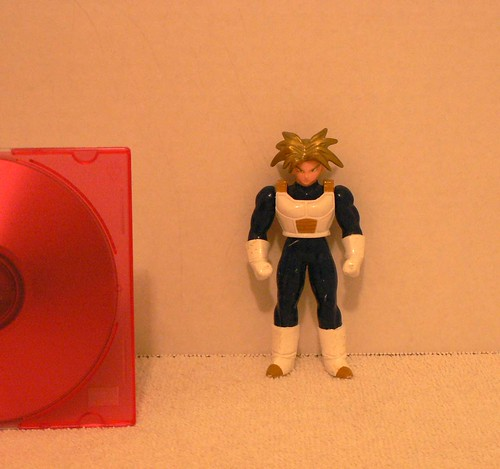 "Super Saiyan Trunks w/ Armor ""Gold Hair"
