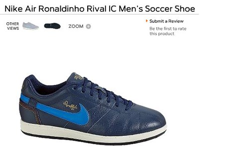 nike air ronaldinho rival ic
