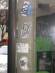 (arterial spray) Tags: japan graffiti tokyo shark phonebooth meta twist guts 620
