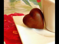 ♥ بشيــل حبـــك معــي (P®o Gi®L) Tags: brown white love cup coffee girl all heart chocolate right pro reserved