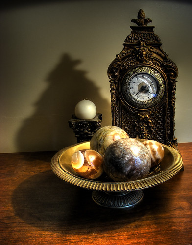 The Clock, The Candle, The Stones and the Shadows